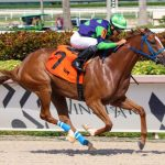 Don't Get Khozy scores in the fourth race